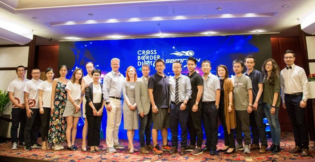 photo of speakers and conference workers